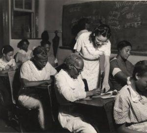 Adult Literacy Class