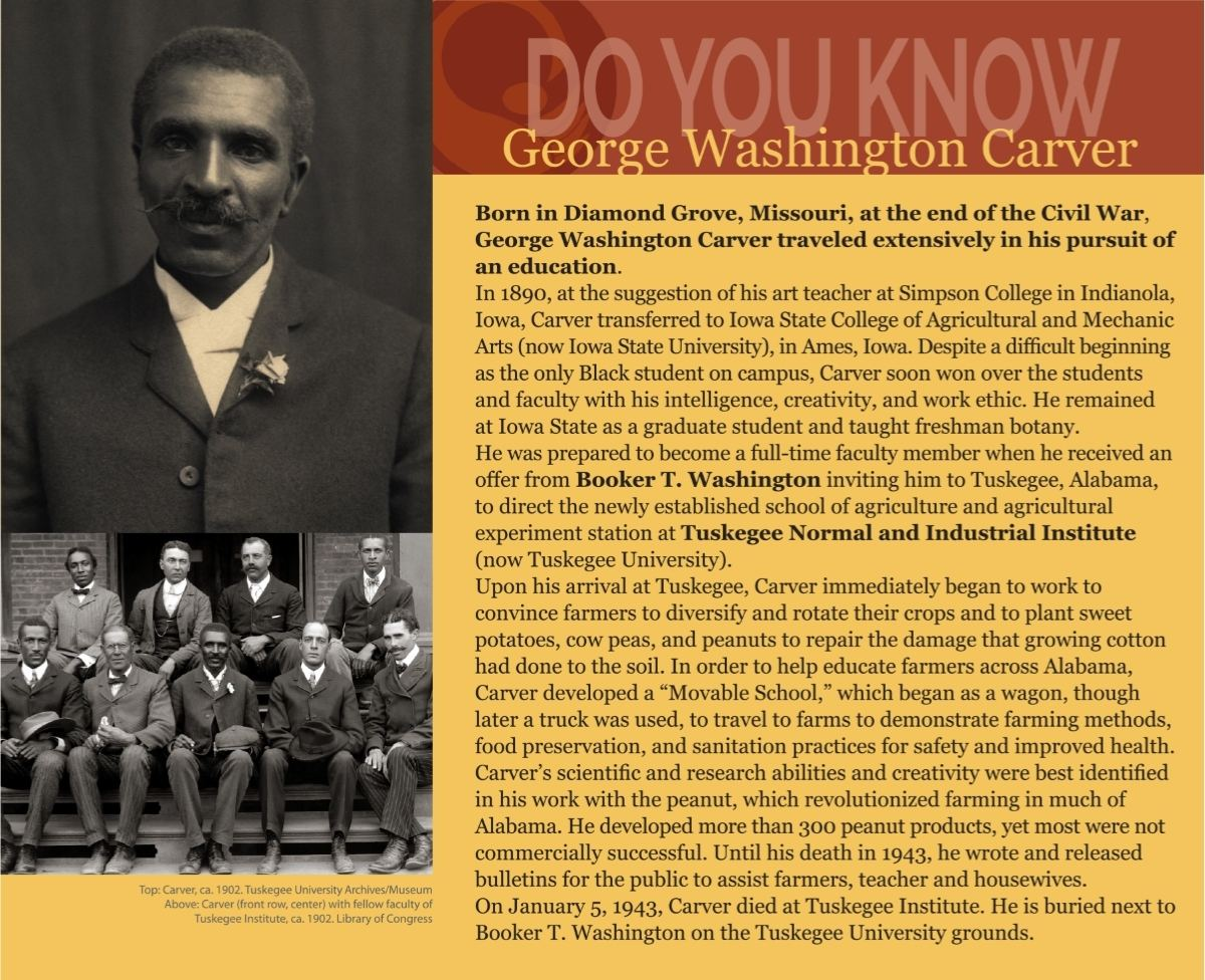 Do You Know George Washington Carver