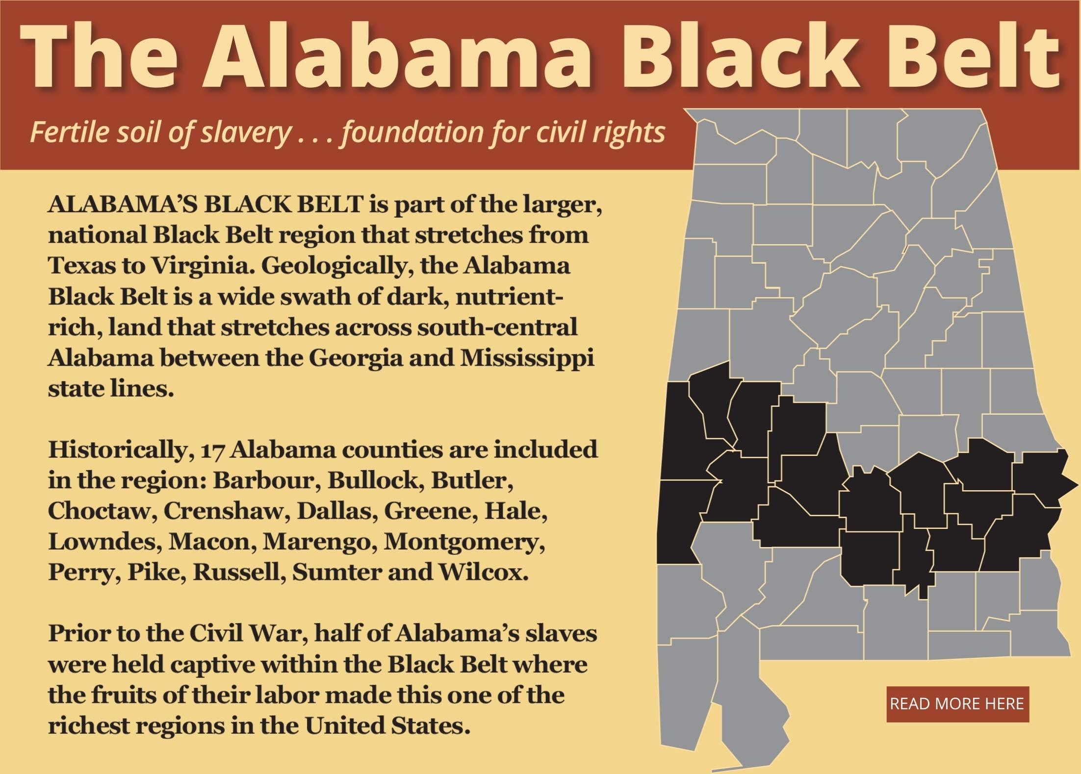 The Alabama Black Belt
