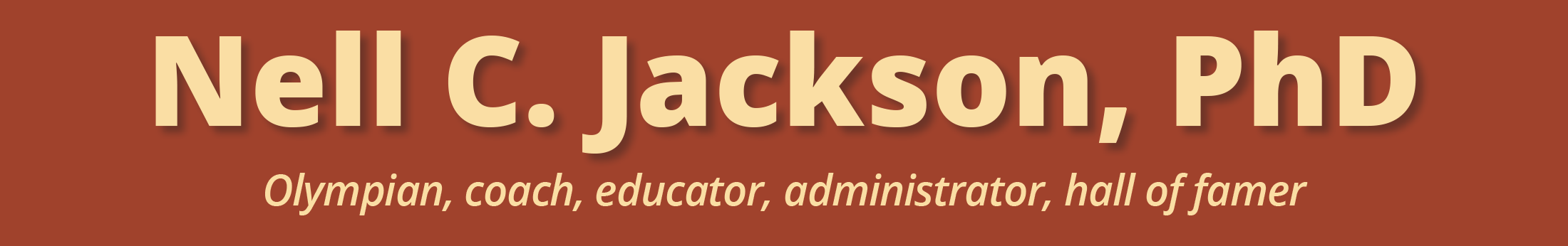 Nell C. Jackson, PhD